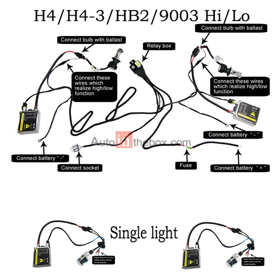 H4 Hid Wiring Diagram Auto Electrical Harness