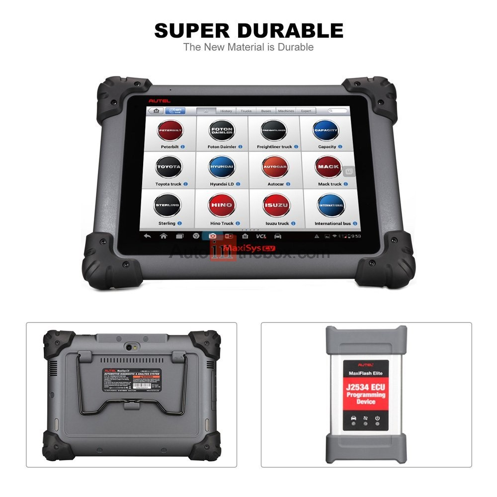 3 150 00 autel maxisys ms908cv automotive diagnostic  u0026 ecu coding programming system