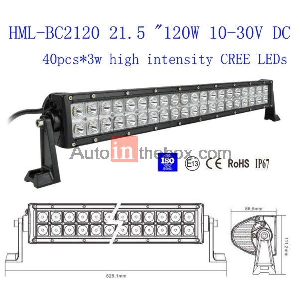 19999 215 inch 120w cree led light bar flood light spot light 215 inch 120w cree led light bar flood light spot light work light off road light aloadofball Choice Image