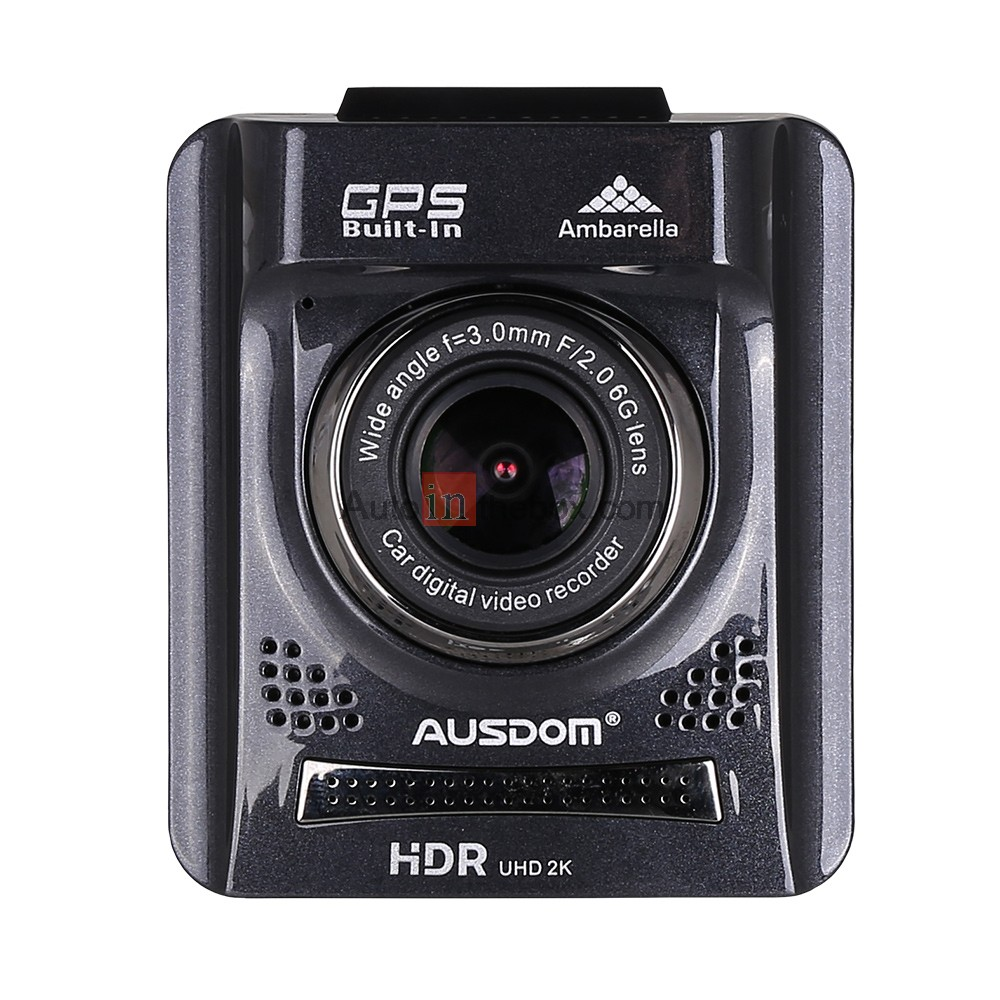 ausdom a261 hd car dash cam dvr with gps and 2. Black Bedroom Furniture Sets. Home Design Ideas