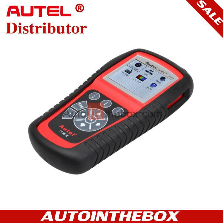 AUTEL AutoLink AL619 ABS / SRS CAN OBDII Car Diagnostic Scan Tool with TFT color display