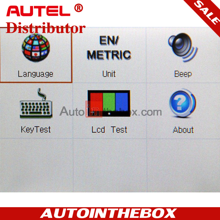 Autel Maxidiag Elite MD703 SRS American Car CODE SCANNER Diagnose for all system update via internet