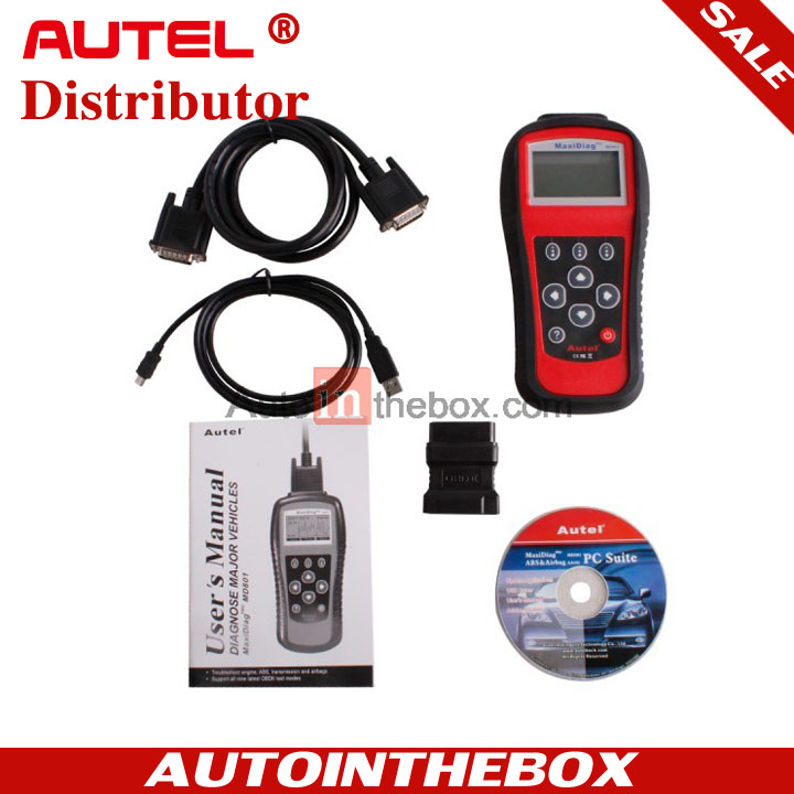 Autel Maxi Diag M D801 Auto diagnostic scan for PRO MD 801 Multi-Functional
