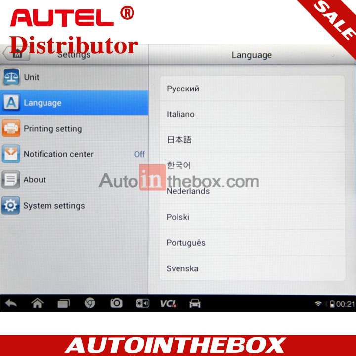 Autel MaxiSys Mini MS905 Automotive Diagnostic & Analysis System