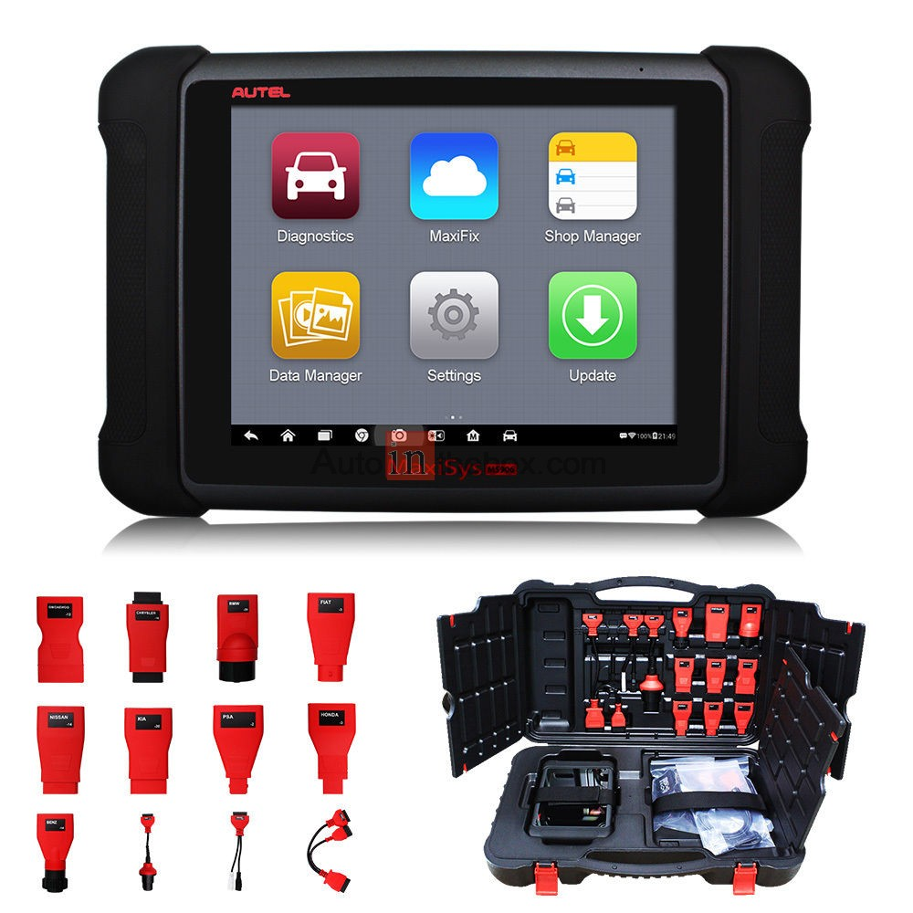 AUTEL MaxiSYS MS906 Android 4.4 Bluetooth/WIFI Full System Auto Diagnostic Scanner Next Generation of Autel MaxiDAS DS708 Diagnostic Tools