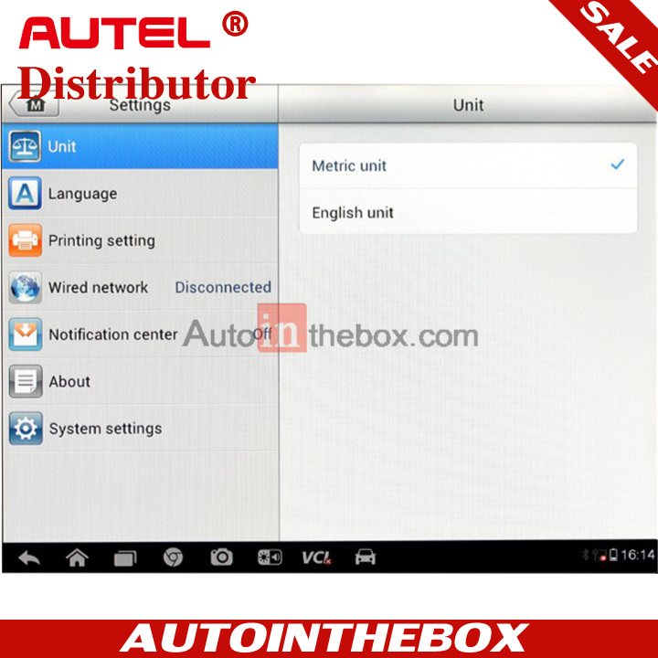 100% Original Autel MaxiSYS MS908  Automotive Diagnostic & Analysis System with Blueooth VCI Module Free Online Update