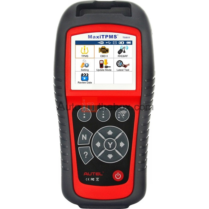 Autel MaxiTPMS TS601 Diagnostic and Service Tool Enhanced All-In-One TPMS Decoder TPMS Relearn, Programming and Coding