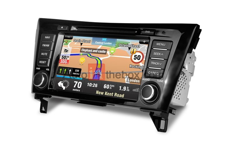 "CASKA CA413-KR7 Car DVD Player Dash system for Nissan X-Trial 2013-2014 vehicles 7"" 800X480 Screen Builted in NAV WinCE 6.0 OEM standard car in-dash"