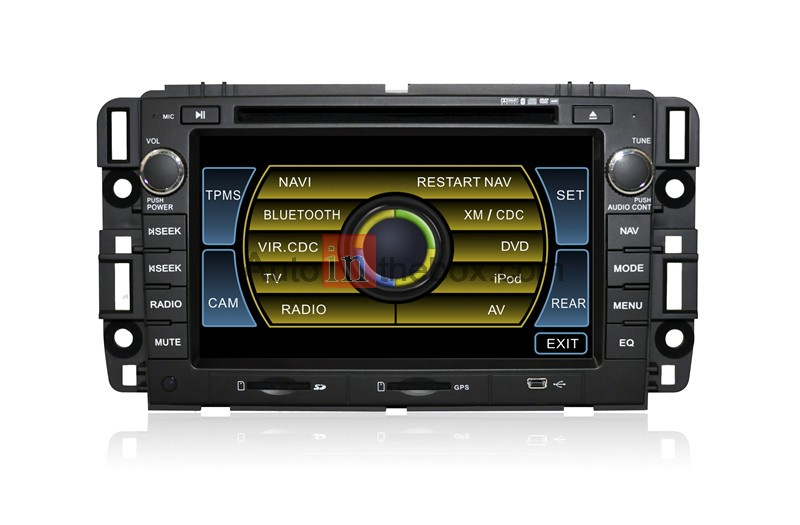 CASKA OUTLET GMC Universal Car DVD 4S3615G Car Video in-dash unit Dash system GMC/Chevrolet Silverado/Chevrolet/Buick/Saturn Free Update Sygic MAP