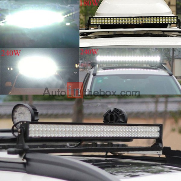 $159.99 New 33 inch 180W Flood Spot Led Alloy Word Light Bar 4WD ...