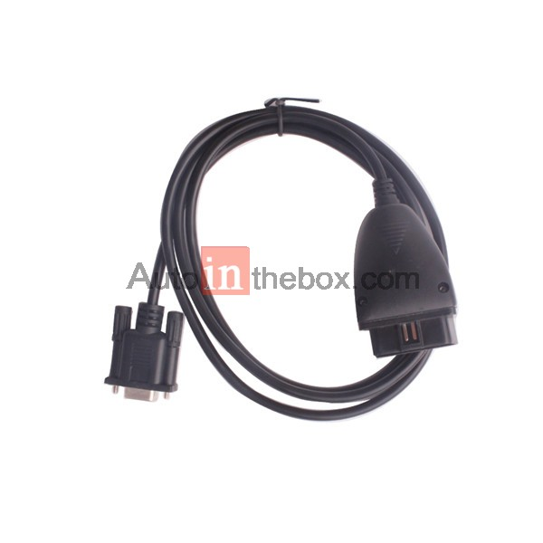 $12.99 obd2 16pin to db9 rs232 cable for car diagnostic adapter, Wiring diagram
