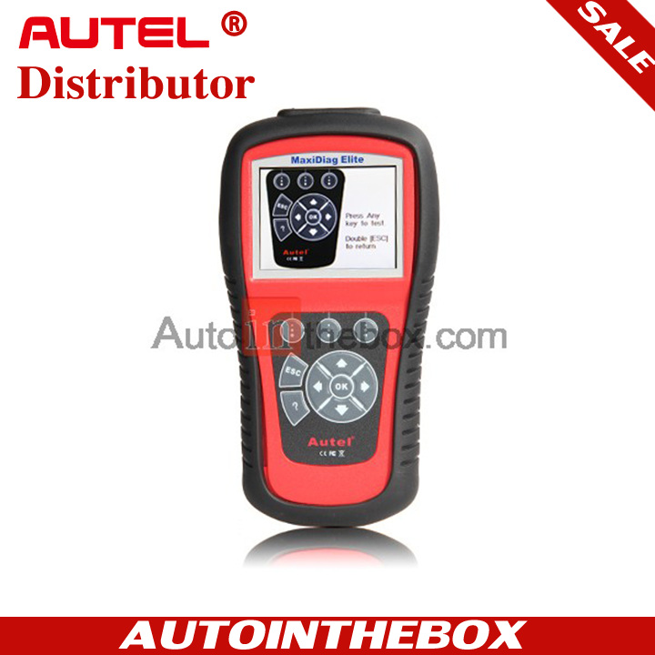 AUTEL MaxiDiag Elite MD802 All System + DS model + EPB + OIL Service Reset  and support data stream function Engine + Transmission + ABS + Airbag +