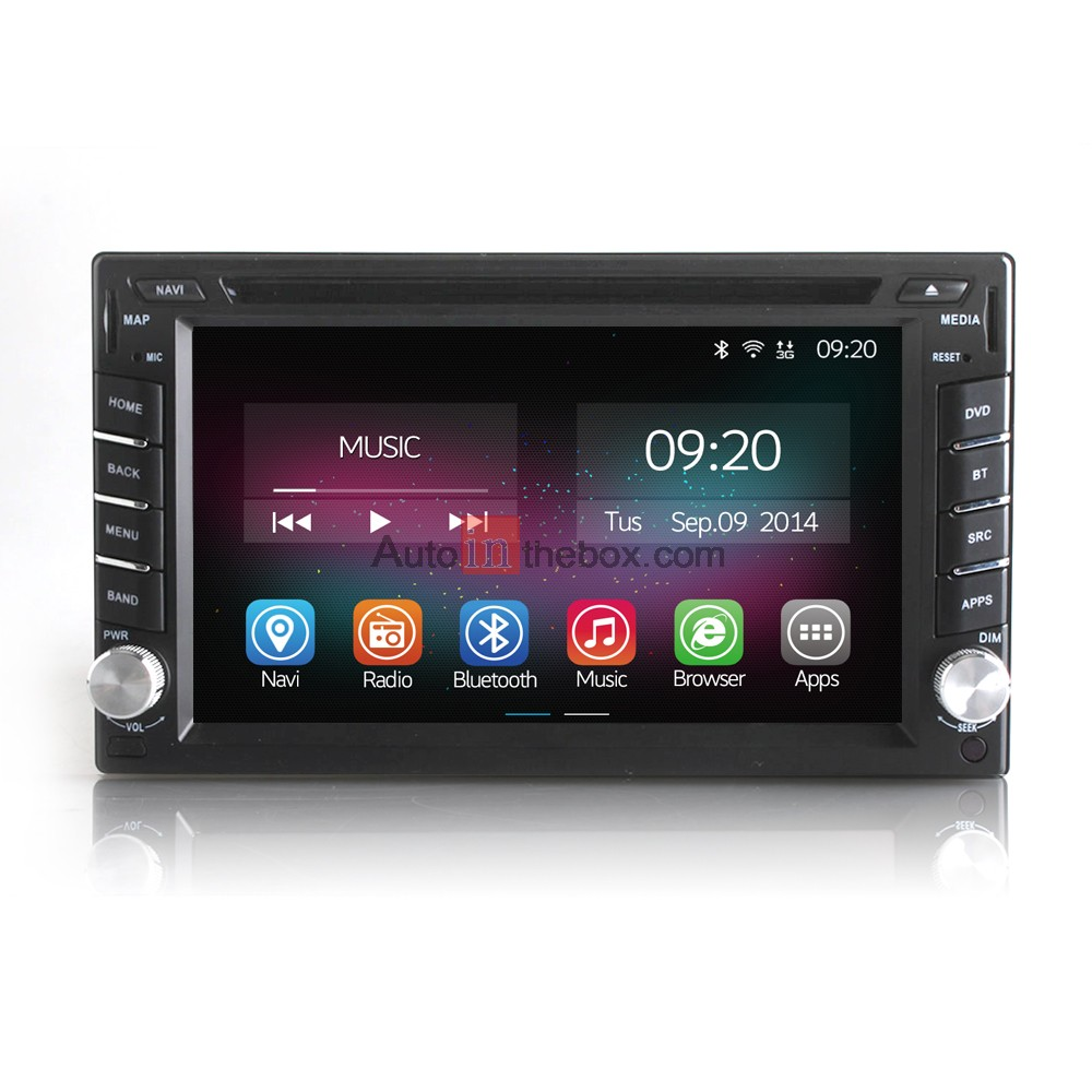 Ownice 6 2 inch car dvd player universal 2 din android 4 4 2 quad core car