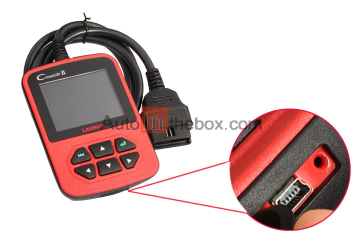 Professional Service Lamp Reset device Launch CResetter II Release Oil Lamp Reset tool
