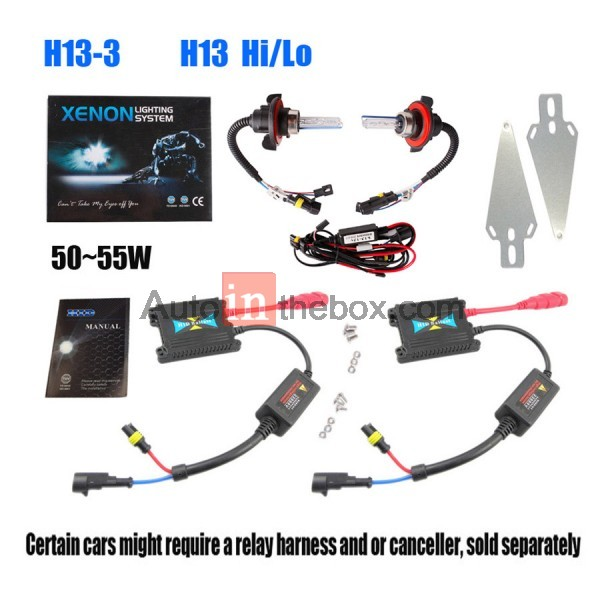 slim xenon hid kit h4 h13 9004 9007 hi lo 2352 3 h13 wiring diagram dolgular com h13 hid wiring diagram at nearapp.co