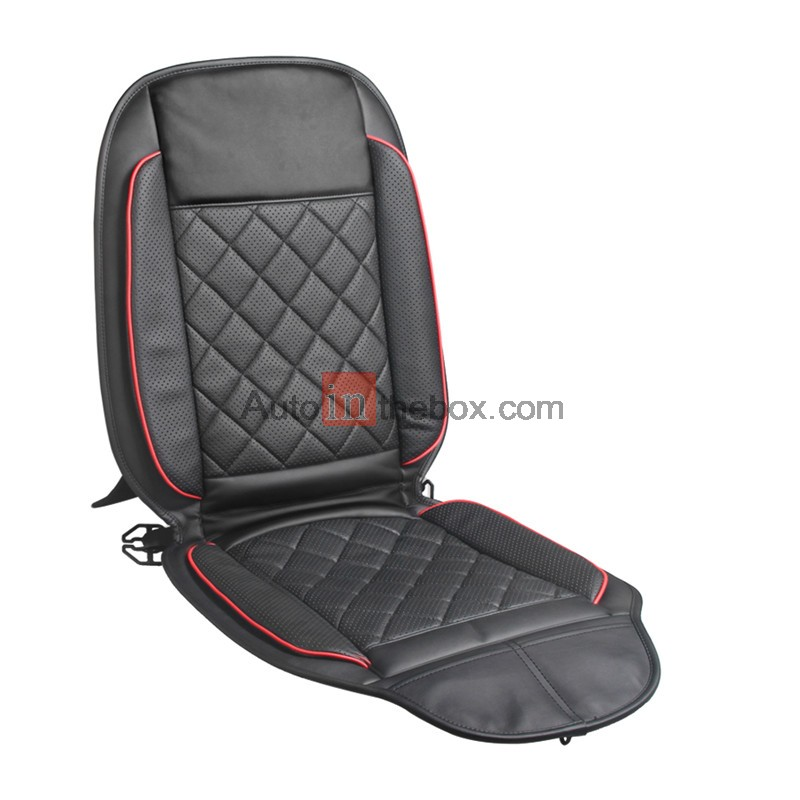 The Intelligent Temperature Control Cushion Controlled Auto Seat Cushion With Heating Cooling Control With 4 Colors Black Gray Brown Khaki