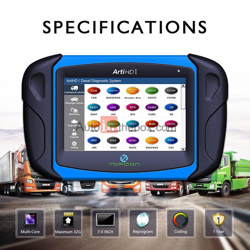 heavy truck scan tool reviews