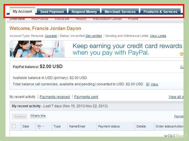 how can i get paypal account