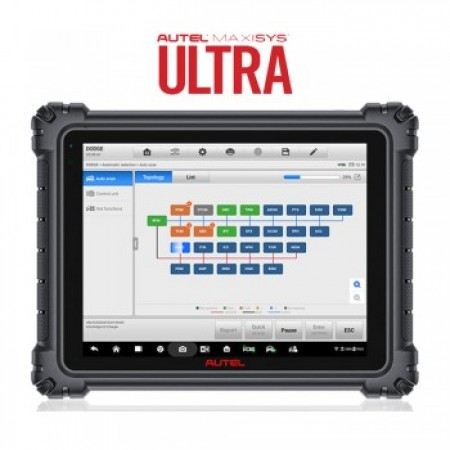 New Arrival Autel Maxisys Ultra Best Professional Diagnostic Scanner with Free MSOAK Oscilliscope Accessory Kit
