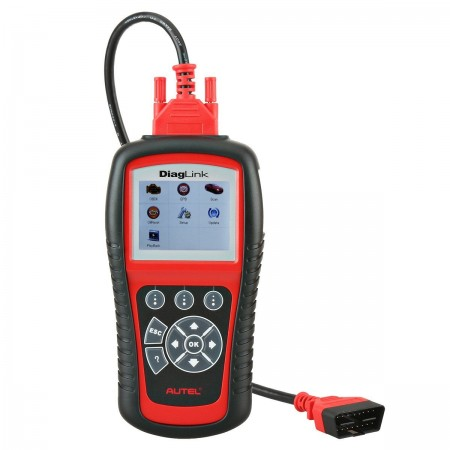 Autel Diaglink (DIY Version of MD802) All Systems/Modules Diagnostic for ABS, SRS, Engine, Transmission etc, EPB, Oil Reset