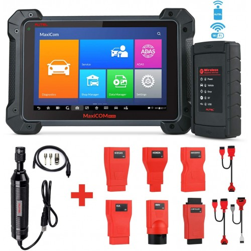 Autel MK908 All system Diagnostic Tool Scanner Multi-language system with ECU Key Coding, 1 year Free Update Online