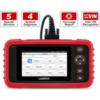 LAUNCH Creader CRP129X OBD2 Tool Automotive code reader 4 system with Oil Reset, EPB/SAS/TPMS and Throttle Service Advanced version of CRP 129, free updates for lifetime