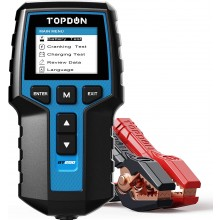 TOPDON BT200 12V &24V 100-2000CCA Car Battery Tester Analyzer Cranking Charging System Test