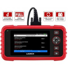 Launch Creader CRP123X OBD2 Scanner Code Reader for Engine Transmission ABS SRS with Multilingual, Wi-Fi updates  (Upgrade version of CRP123)