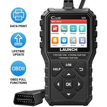 2020 new version Launch CR529 OBD2 Scanner Automotive Diagnostic Tool Code Reader