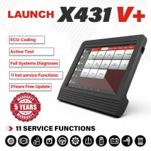 Newest Original Launch  X431 V+ v 4.0 (X431 Pro3)  ScanPad 101 Wifi/Bluetooth Global Version Full System Diagnostic Tablet X-431 V Plus Auto Scanner on Android OS + 2 years free update
