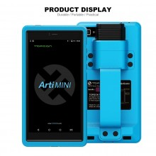 Topdon ArtiMini 6.9-Inch Comprehensive Diagnostic Scanner 2 years free online update Full System OBDII Diagnostic Tool Bluetooth & Wi-Fi Enabled with 11 Special Functions