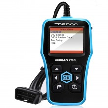 Topdon Ultrascan OBDCAN PLUS 2.0-D Diagnostic Tool Auto Scanner OBD2 EOBD Scanner Analyzer for Checking Engine Light & I/M Monitor Readiness Test & Turn off the MIL