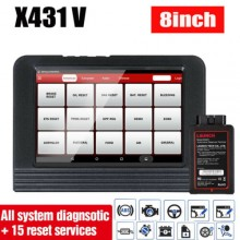100% Original LAUNCH X431 V (ScanPad 071) Professional Car Diagnostic Scan Tool Wifi / Bluetooth Full System X-431 Pro Diagnostic Tablet Free Online Update + Multi-Language