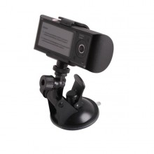 2.7 inch140° Dual Lens dash board camera car dvr black box video recorder+gps logger