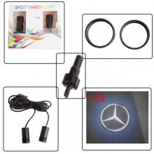 2pcs Car Door Welcome Projection Shadow CREE Led Laser Light light Logo 4th Gen 5W