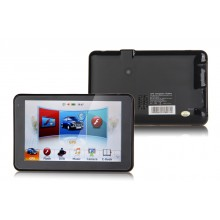 5 inch GPS navigator 800*480+600MHz+MP3/MP4+4GB memory+RAM128+Free map+AV-in+FM,GPS with DVR