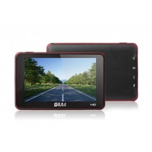 5 inch GPS Navigator B62 Bluetooth AV IN GPS Navigation Free Maps 4GB MediaTek MT3351C