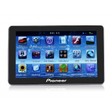 5 inch Pioneer K560 Car GPS Navigation with 128M+FM+Free Maps and 4GB 3D Maps
