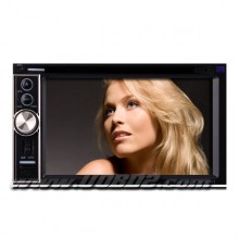 6.2 Inch Digital Touchscreen 2Din Car DVD Player with GPS Bluetooth DVB-T RDS