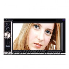 6.2 Inch Digital Touchscreen 2Din Car DVD Player with GPS Bluetooth TV RDS
