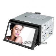 7 Inch 2 Din Car DVD Player with GPS Bluetooth TV RDS