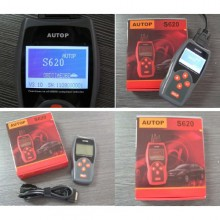 Buy Chinese S620 OBDii EOBD2 K+CAN Scanner only 49.99USD