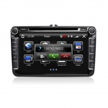 CASKA CA669-MQ8 CAR DVD Player fit for VW Universal models OEM standard car in-dash system High quality auto GPS and multimedia with free GPS Navigation Sygic map