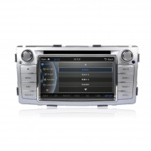 CASKA Car DVD CA163-Q5 for Toyota Hilux 2012-2014 OEM standard car in-dash DVD Player system 8 inches touch screen 800X480 Windows CE 6.0 Navigation with free Sygic map