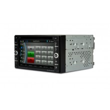 CASKA Car DVD Player System 6.2 Inch 800X480 2 Din