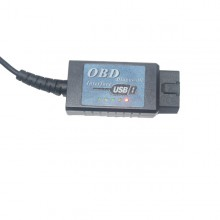 ELM327 V1.4 Plastic OBDII EOBD CANBUS Scanner with FT232RL Chip