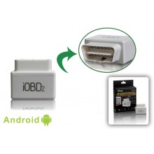 IOBD2 OBD2 EOBD Car Doctor Vehicle Diagnostic Tool Communicate with iPhone iPod white