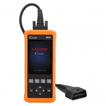 Launch CReader 6011 Code Reader OBDII/EOBD Scan Tool Auto Diagnostic Scan Tool with ABS and SRS Diagnosis Functions for OBD2 Vehicles