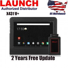 Newest Original Launch  X431 V+ (X431 Pro3)  ScanPad 101 Wifi/Bluetooth Global Version Full System Diagnostic Tablet X-431 V Plus Auto Scanner on Android OS + 2 years free update