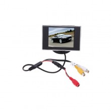 NEW 3.5 inch TFT LCD Color Screen Car Rearview Monitor DVD VCR